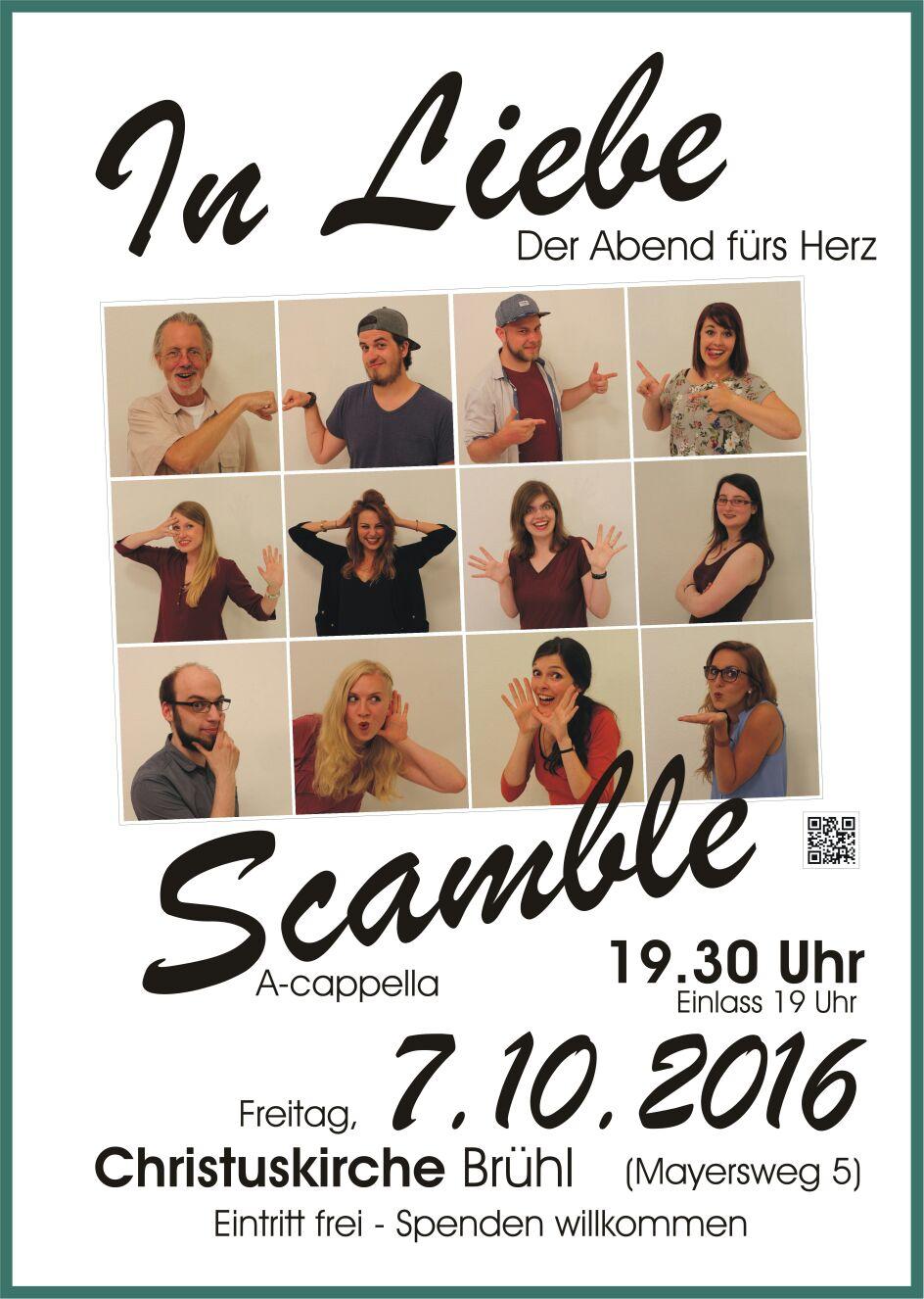 scamble – a cappella.